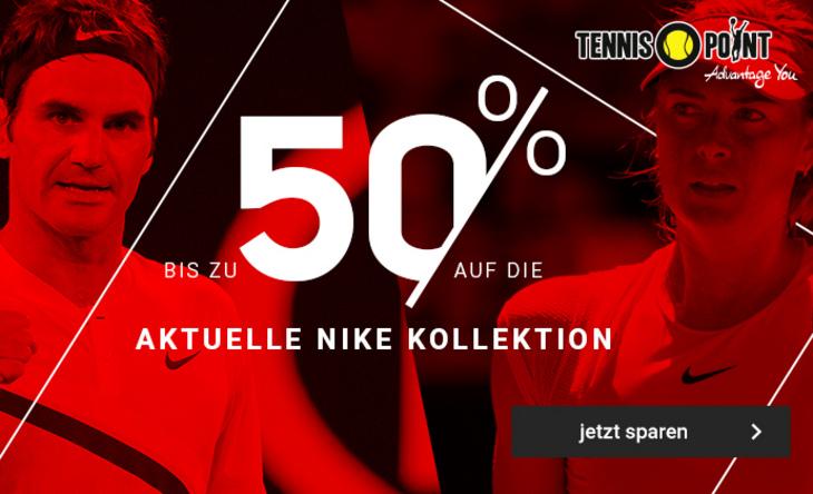 Bis zu 50% auf die neue Nike-Kollektion