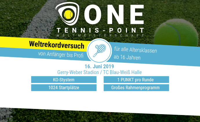 ONE TENNIS-POINT WM