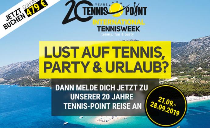 20 JAHRE TENNIS-POINT