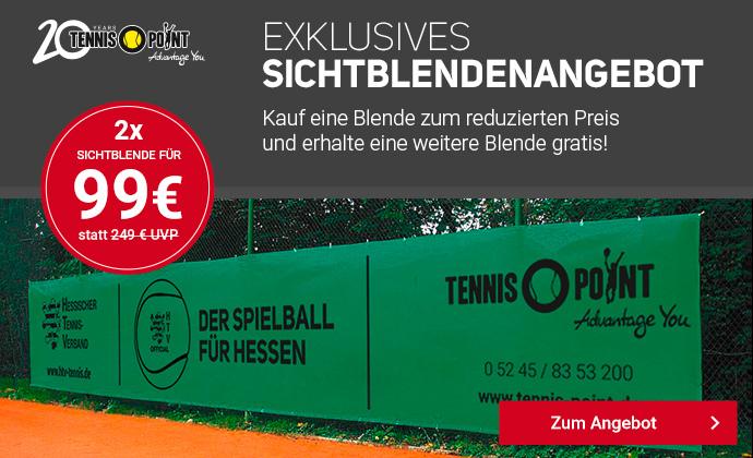 Sichtblenden für Eure Tennisplätze