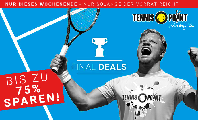 Final Deals bei Tennis-Point