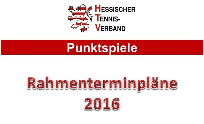 Rahmenterminplan 2016