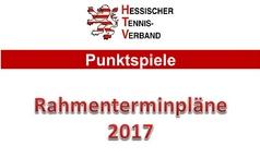 Rahmenterminpläne 2017