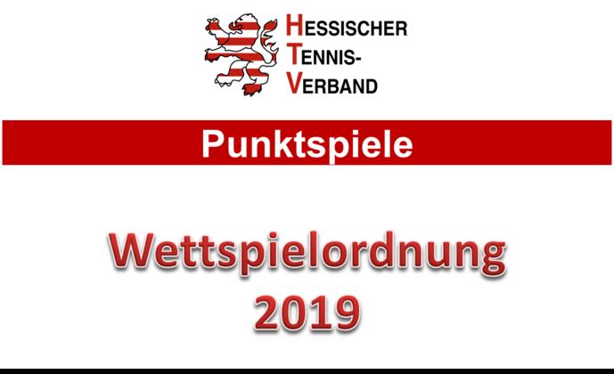 Veröffentlichung der Wettspielordnung 2018