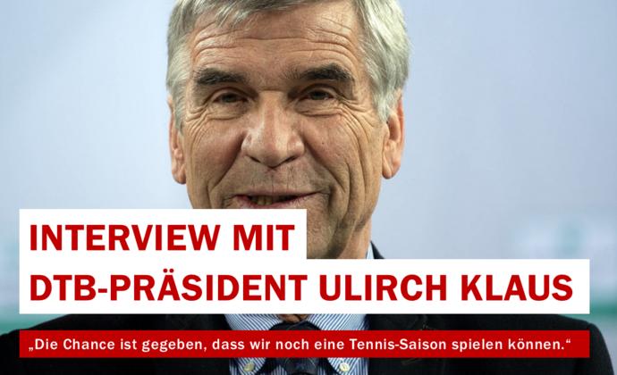 Interview mit DTB-Präsident Ulrich Klaus