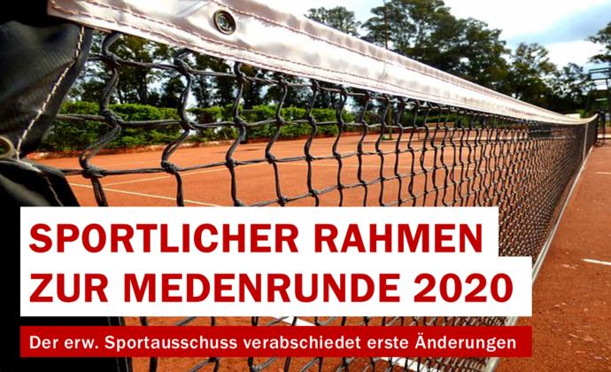 Sportlicher Rahmen für Medenrunde beschlossen!