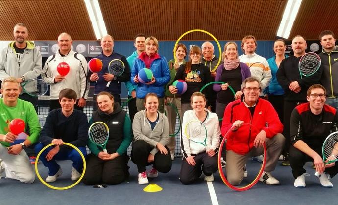 Fortbildung Tennis in der Vorschule - die Ballschule im Tennisverein