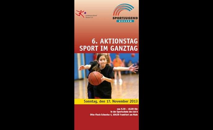 6. Aktionstag Sport im Ganztag bei der Sportjugend Hessen