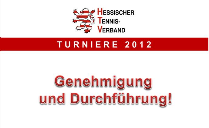 DTB- und LK-Turniere 2012