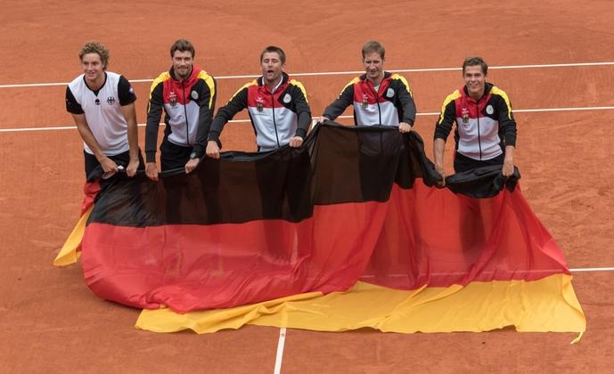 Deutsches Davis Cup Team schafft Klassenerhalt