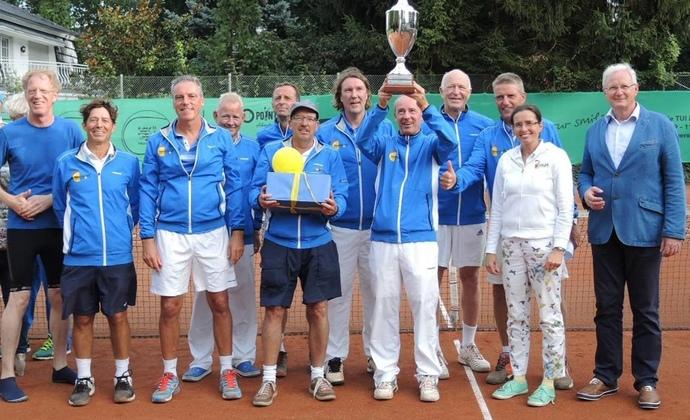 Deutscher Meistertitel für tennis 65 eschborn