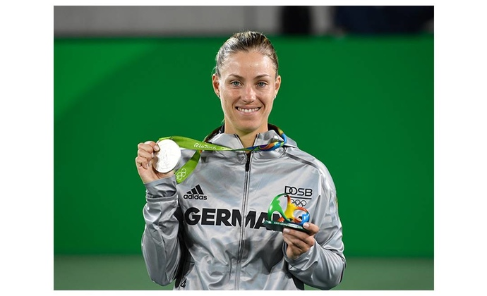 Angelique Kerber gewinnt Silber bei Olympia