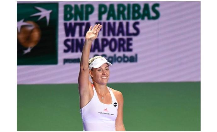 Angelique Kerber im Halbfinale