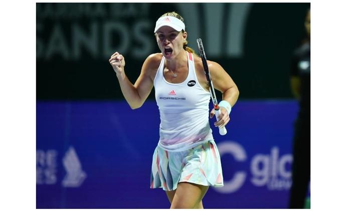 WTA Finals: Angelique Kerber im Finale