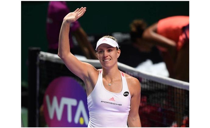 Angelique Kerber wird Zweite bei den WTA Finals
