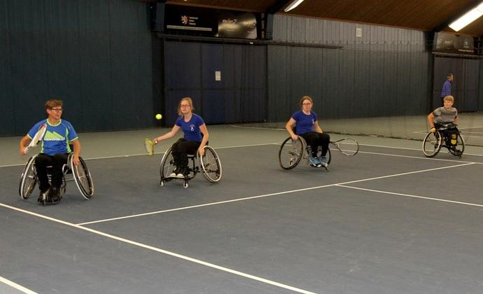 1. Tag des Behindertensports/Rollstuhltennis