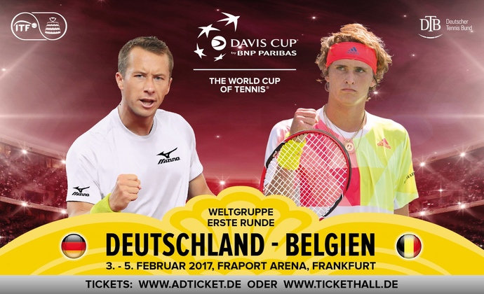 Davis Cup 2017 in Frankfurt am Main