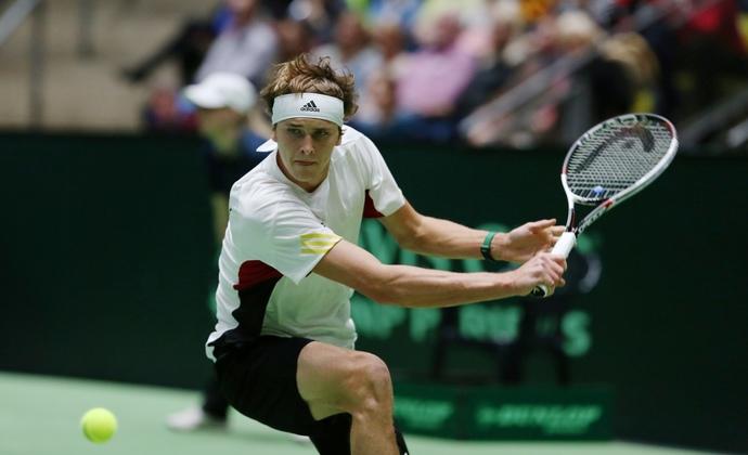 Gleichstand nach dem ersten Tag im Davis Cup