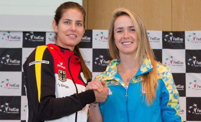 Julia Görges eröffnet Fed Cup