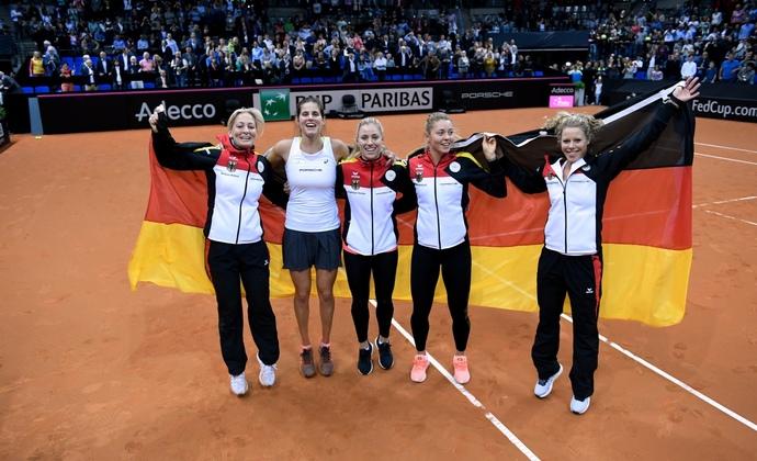 Deutschland schafft Fed Cup-Klassenerhalt