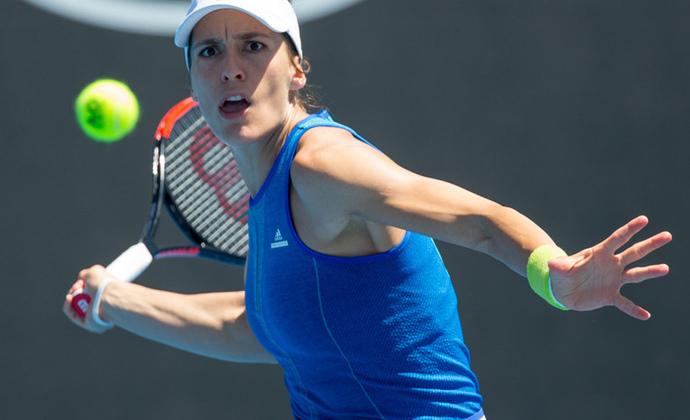 Andrea Petkovic eröffnet Fed Cup