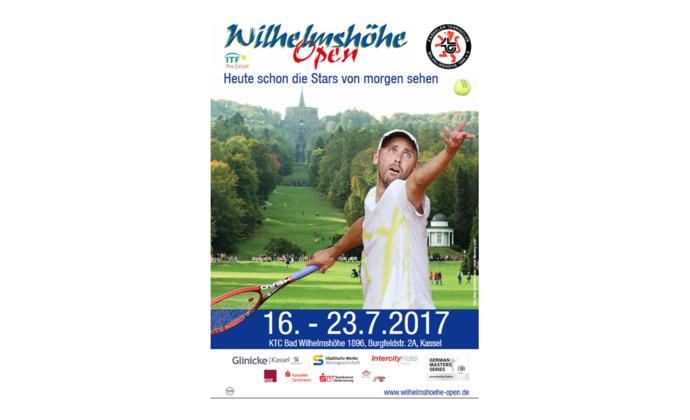 Ankündigung ITF Turnier Wilhelmshöhe Open 16.-23.7.2017
