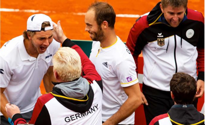 Davis Cup-Team unterliegt Spanien denkbar knapp