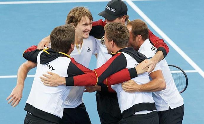 Davis Cup: Deutschland steht im Viertelfinale