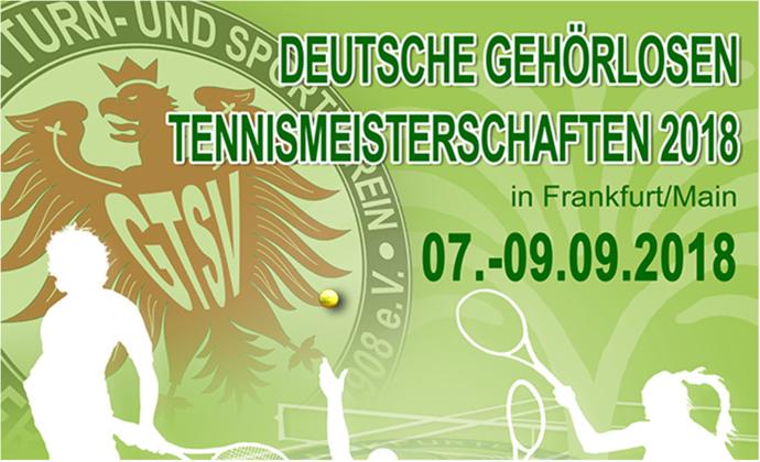 Deutsche Gehörlosen Tennismeisterschaften in Frankfurt