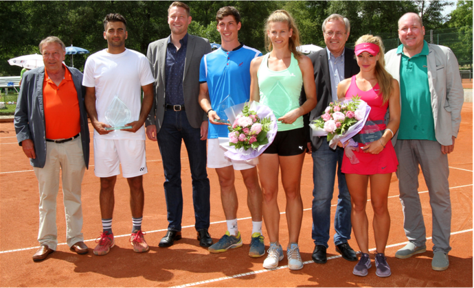 Hessische Aktivenmeisterschaften beim TC Bad Homburg