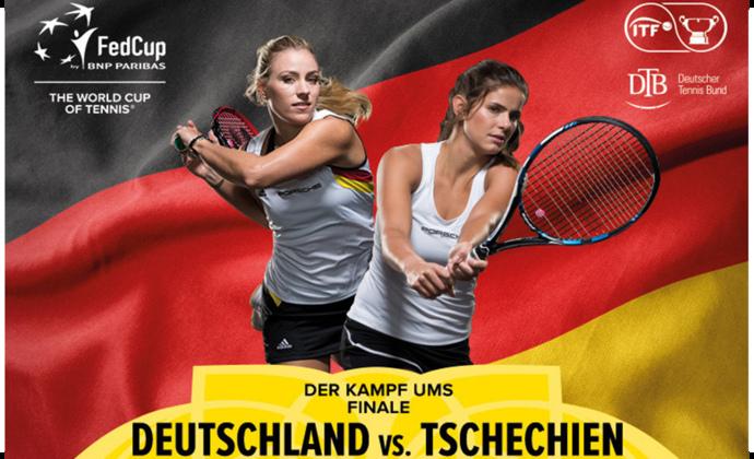 Fed Cup-Halbfinale in Stuttgart