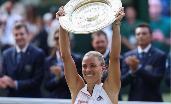 Kerber gewinnt Finale gegen Serena Williams