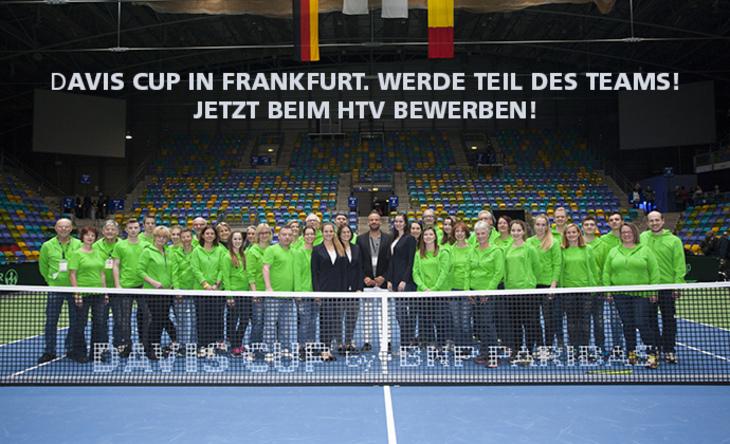 Hilfskräfte beim Davis Cup gegen Ungarn gesucht - machen Sie mit!