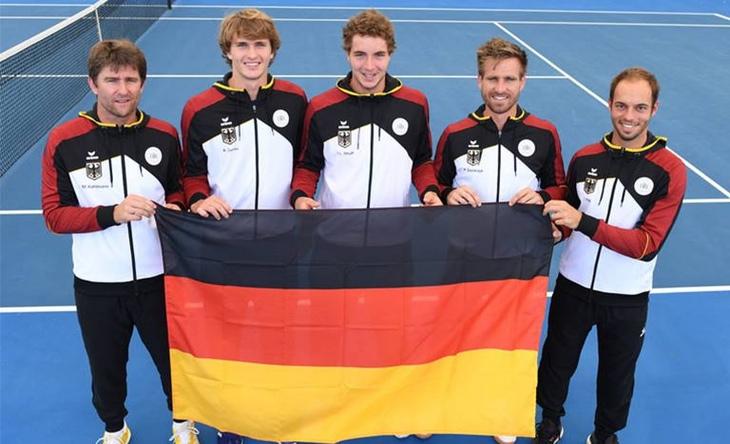 Davis Cup: Zverev siegt in Fünfsatz-Krimi
