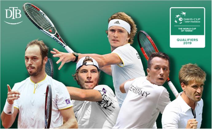 Davis Cup: Deutschland gegen Ungarn