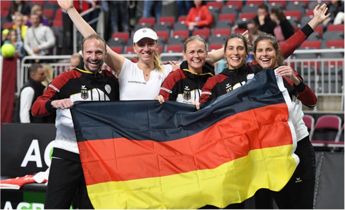 Fed Cup Relegation gegen Lettland