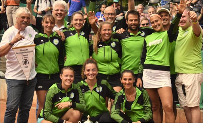 Deutscher Vereinsmeister Damen 2019