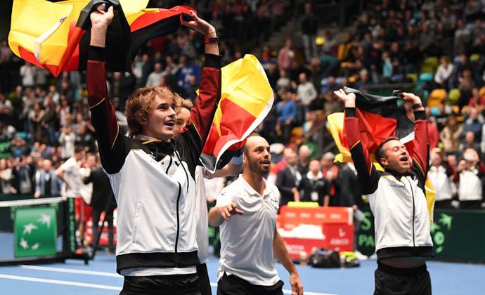 Davis Cup Team qualifiziert sich für Finalrunde