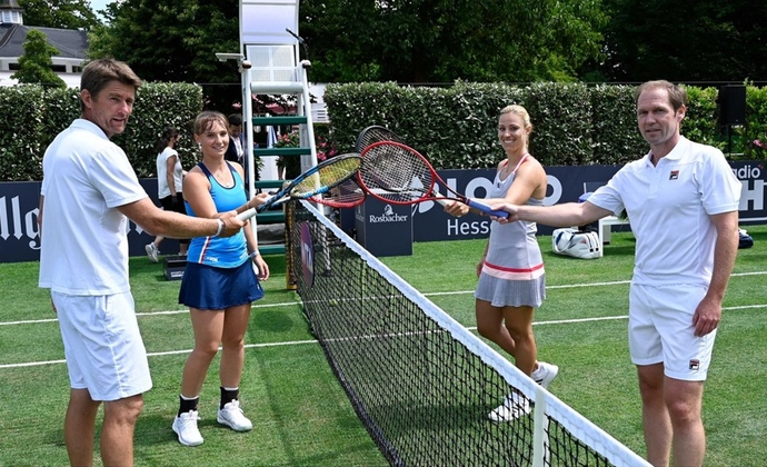 Bad Homburg Open: Kerber eröffnet Centre Court