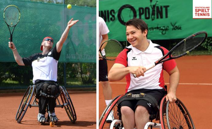 Neues Verbandsangebot Rollstuhl-Tennis