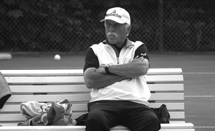 Trauer um Tennistrainer Larry Cooper