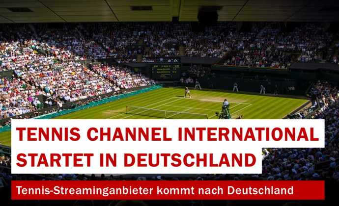 Tennis Channel International startet in Deutschland