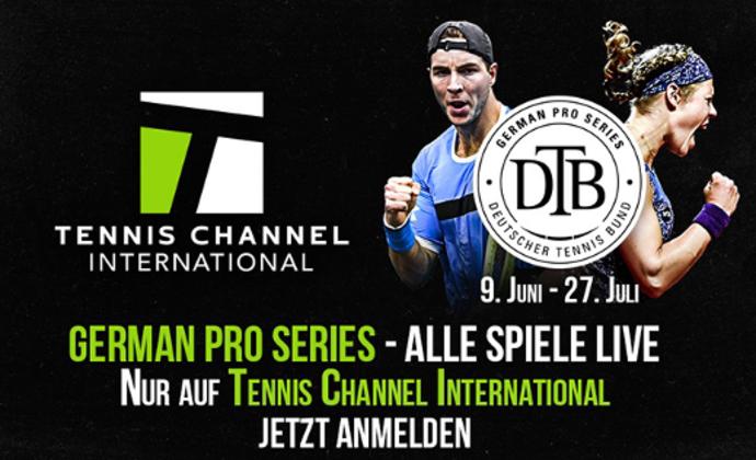 Tennis Channel jetzt auch in Deutschland