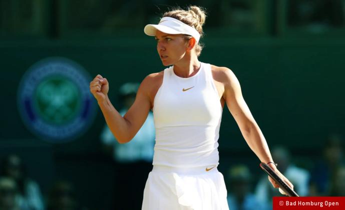 Simona Halep startet bei Bad Homburg Open