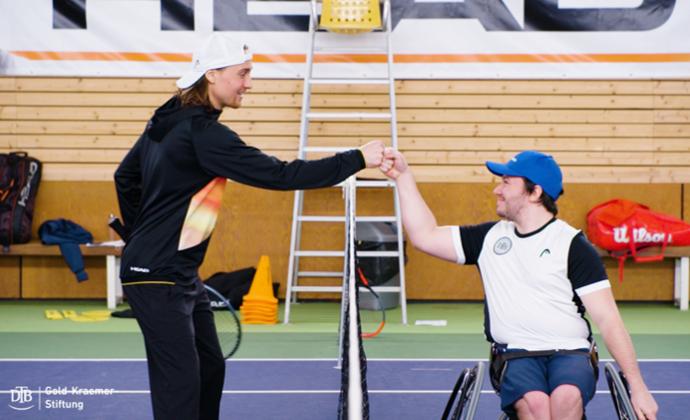 Inklusives Tennistraining für alle