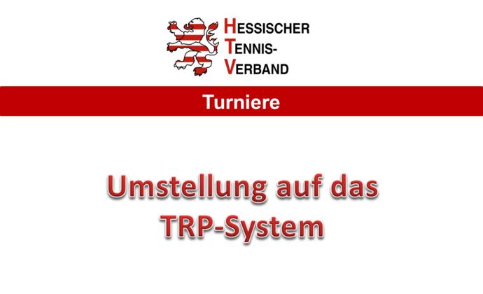 TRP-System im Jugend- und Aktivenbereich