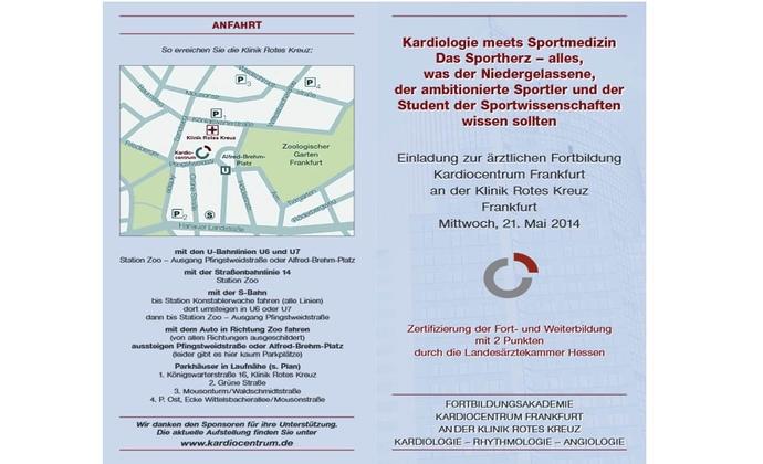 Kardio meets Sportmedizin am 21.05.2014