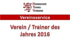 Verein / Trainer des Jahres 2016