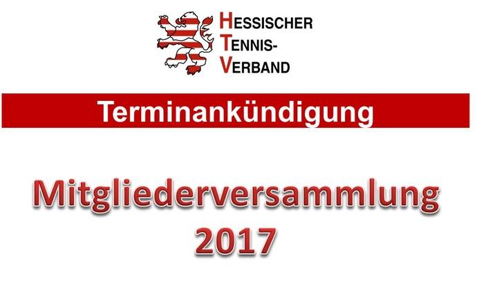 HTV-Mitgliederversammlung am 25. Februar 2017