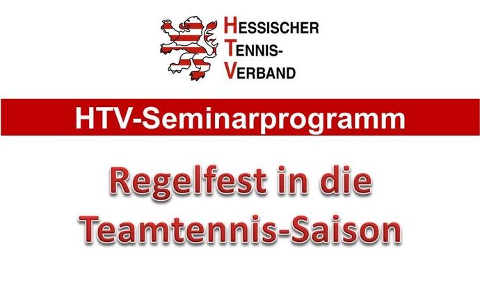 Seminar 'Regelfest in die Teamtennis-Saison'